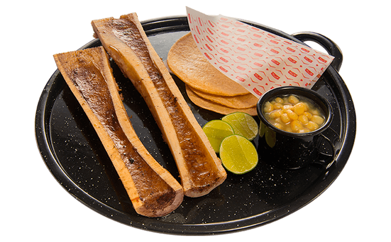 Tacos de Hueso